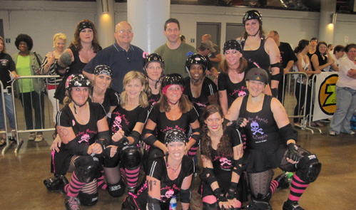 Cedar Rapids Roller Derby Team